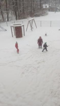 Hurá, konečně sníh...